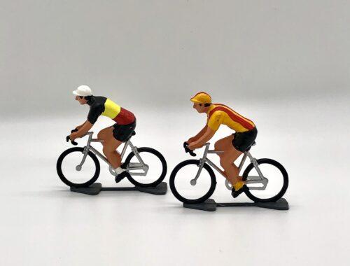 cycling figurines