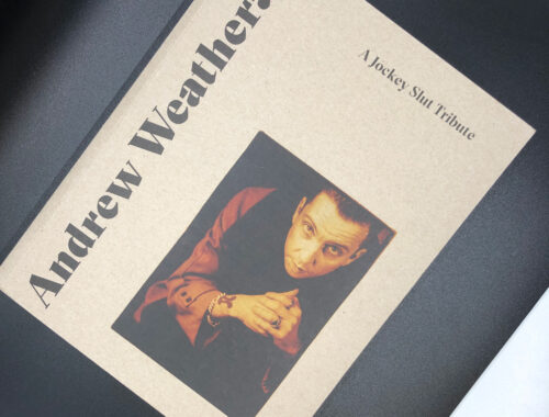 Andrew Weatherall book