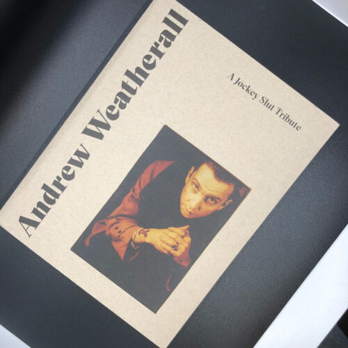 Andrew Weatherall book