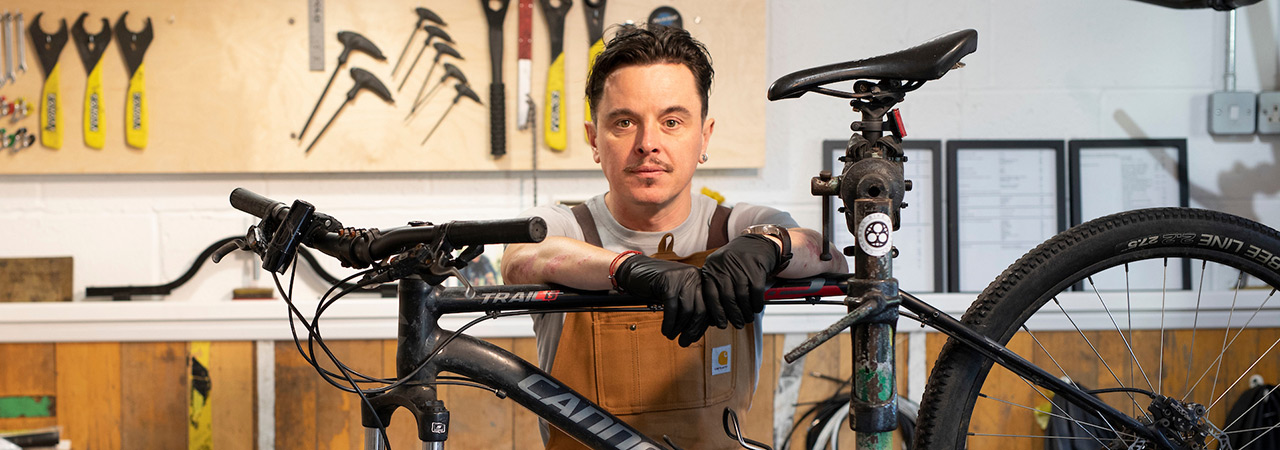 Campbell Bike Workshop with Ali Campbell